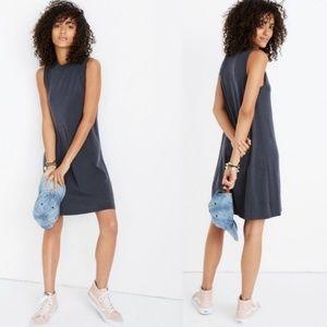 Madewell mockneck tank mini dress